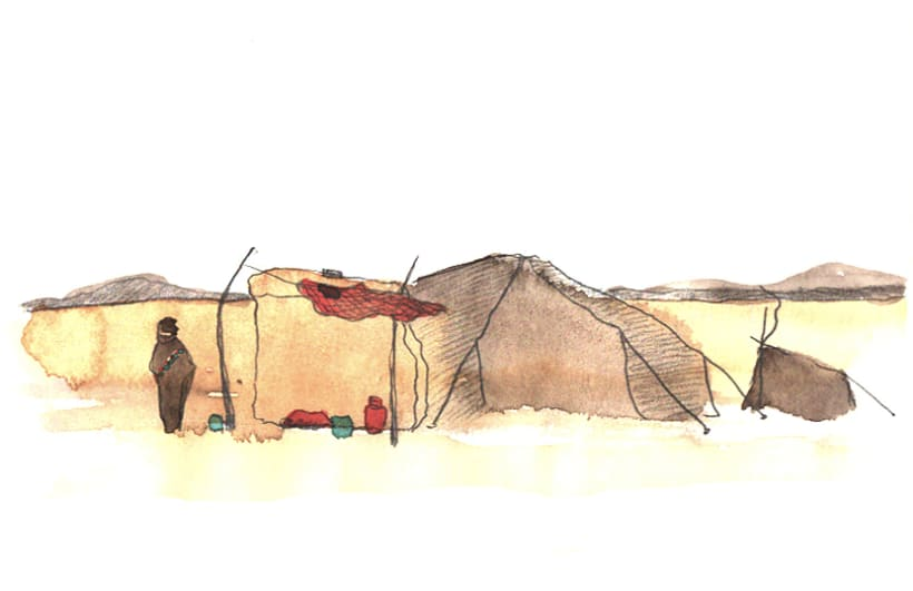 Morocco Sketchbook 6