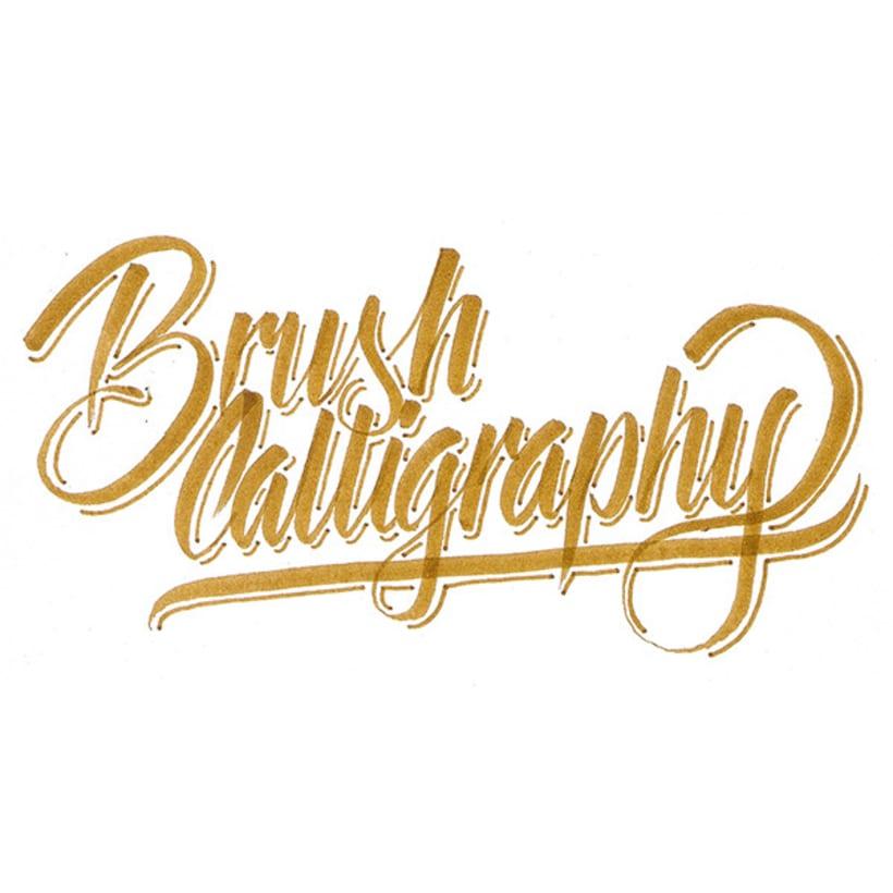 Brush Calligraphy 3