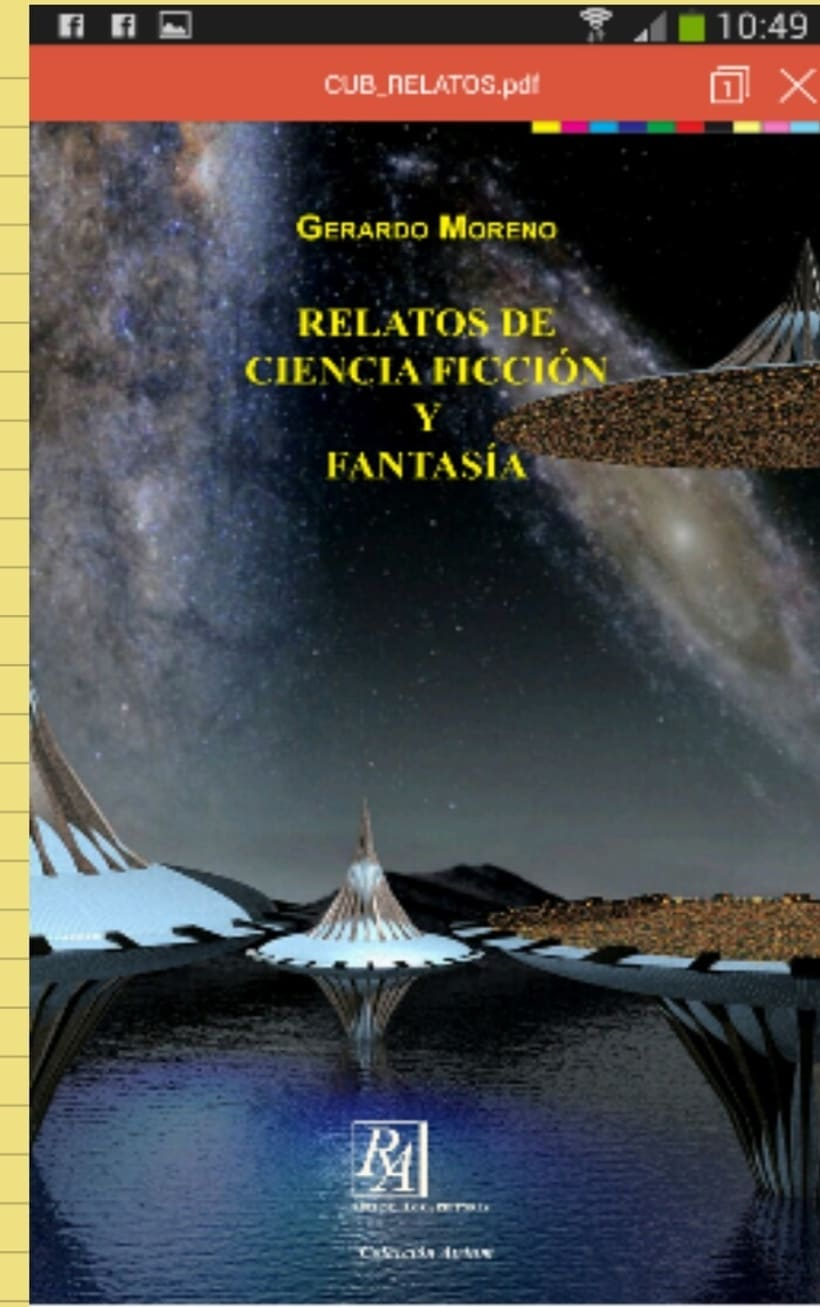 Relatos de ciencia ficción y fantasia  1