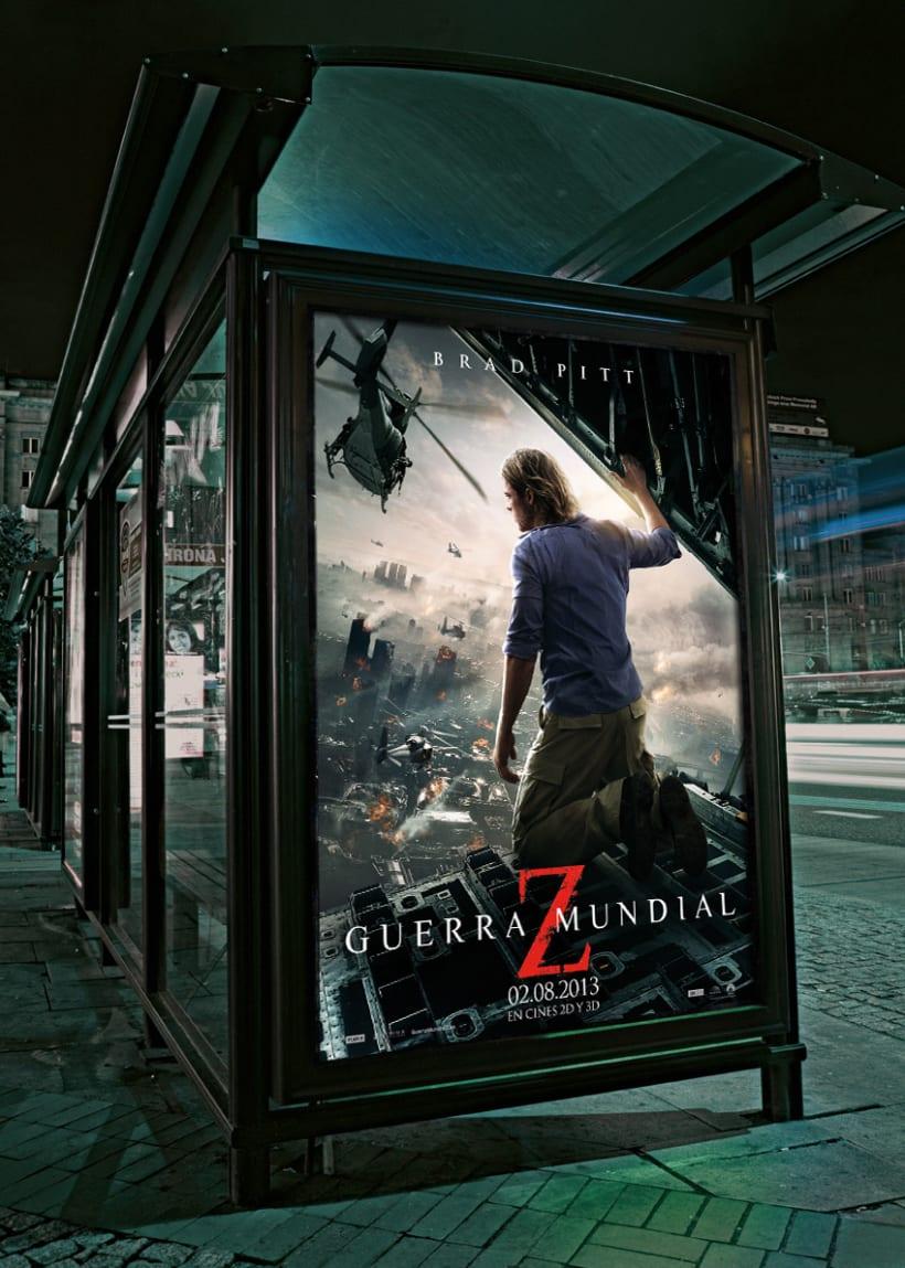 Guerra Mundial Z - Paramount Pictures Spain 1