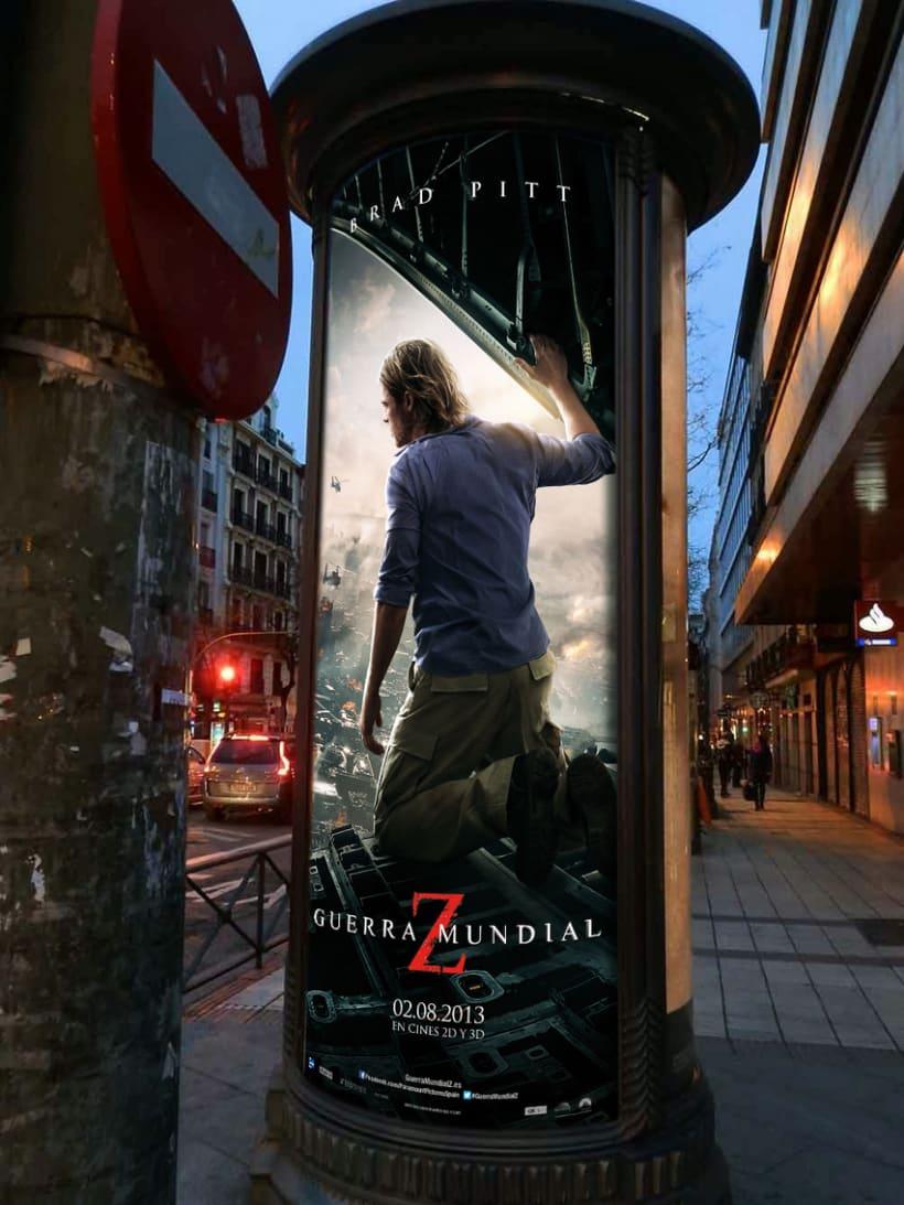 Guerra Mundial Z - Paramount Pictures Spain 5