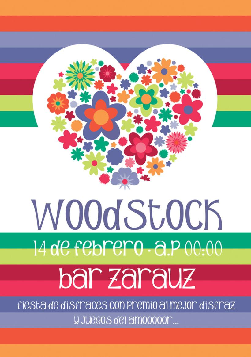 Diseño cartelería Bar Zarauz -1