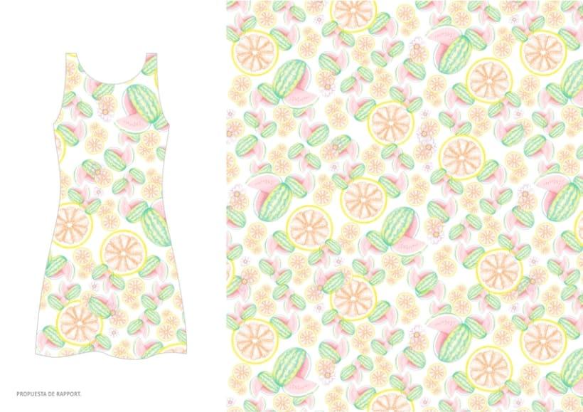 diseño & desarrollo de estampados textiles / ilustración / 2014 0