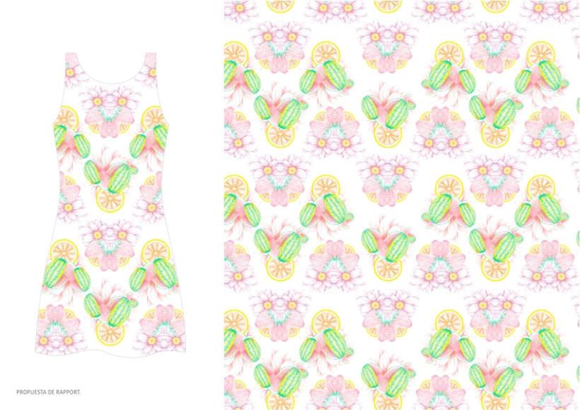 diseño & desarrollo de estampados textiles / ilustración / 2014 4