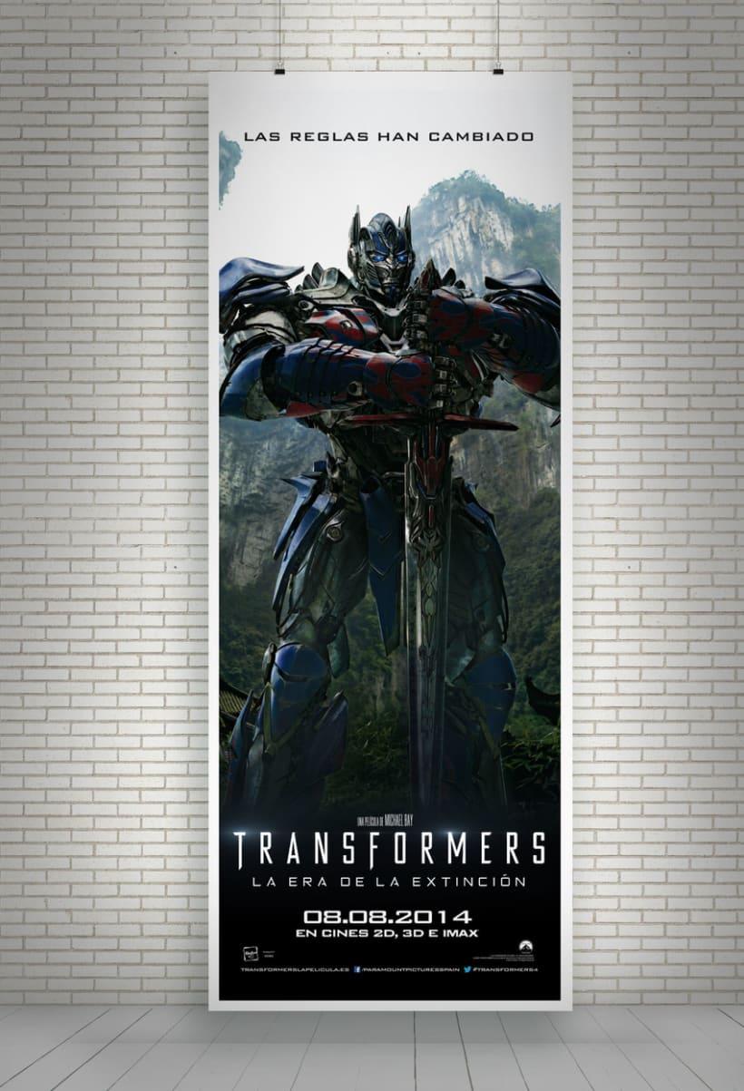 """TRANSFORMERS 4 """"La era de la extinción"""" - Paramount Pictures Spain 8"""