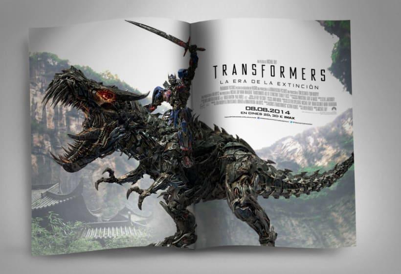 """TRANSFORMERS 4 """"La era de la extinción"""" - Paramount Pictures Spain 7"""