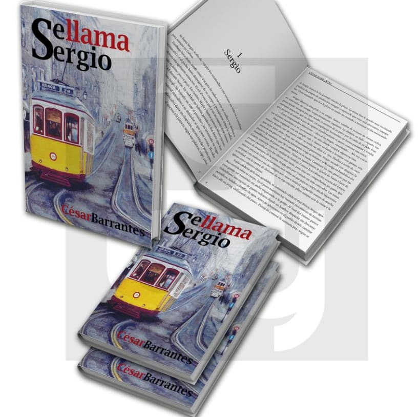 """Maquetación del libro """"Se llama Sergio""""  0"""