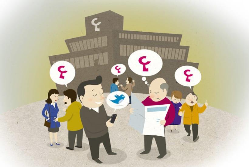Laboral Kutxa - España - Ilustraciones para blog empresarial 0