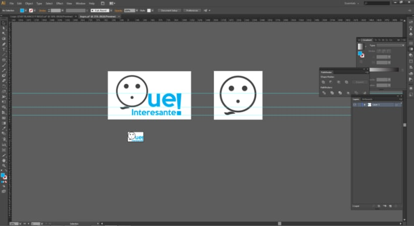 """Diseño de logo para Blog """"Que Interesante"""" -1"""