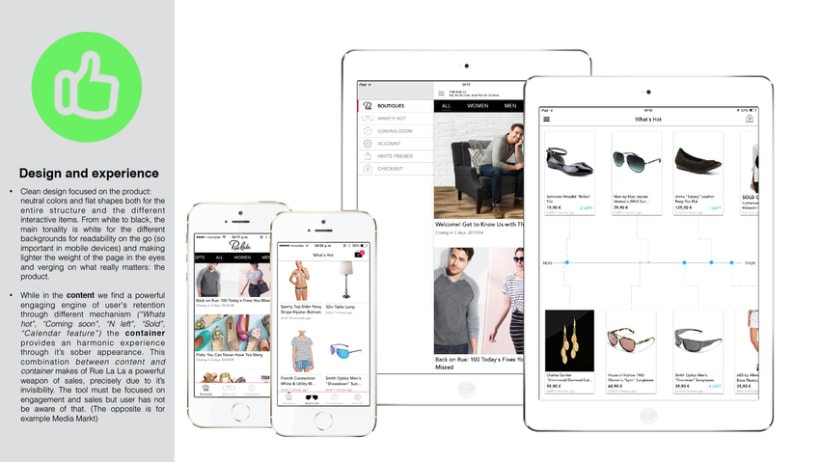 UI/UX Advising for a Fashion App -1