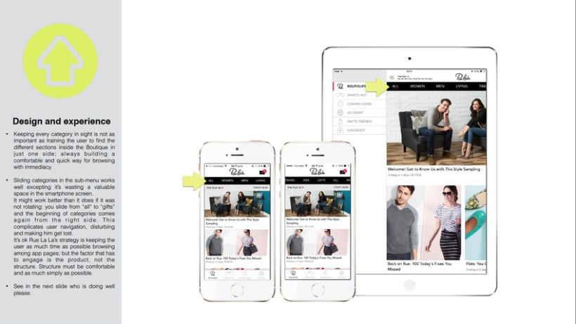 UI/UX Advising for a Fashion App 0