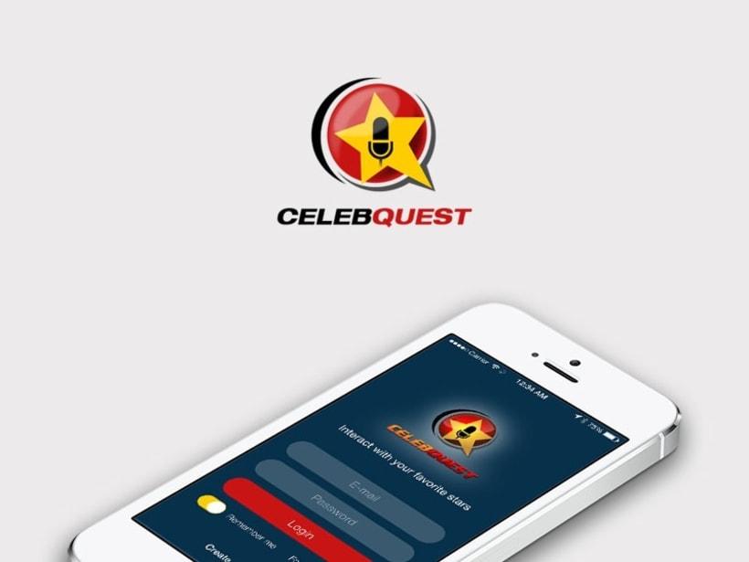 UI app CelebQuest -1