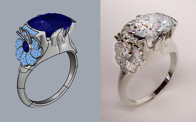 ¿Te gusta el modelado 3D de joyería?  1