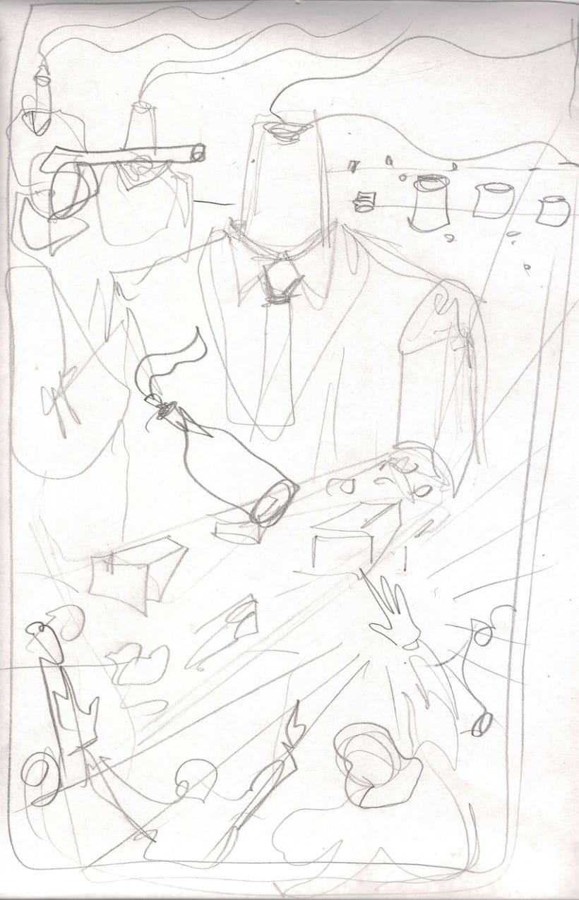 Mi Proyecto del curso Ilustración para music lovers: RATM 27