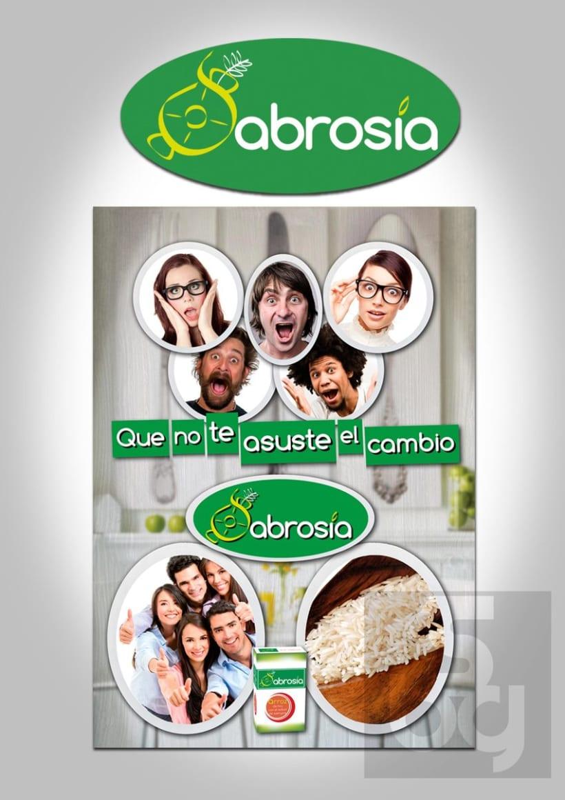 Diseño de logotipo y normas de identidad visual de marca de arroz 3