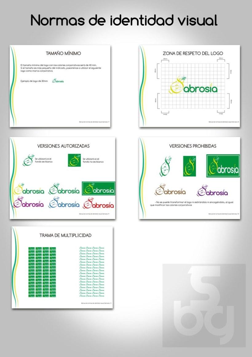 Diseño de logotipo y normas de identidad visual de marca de arroz 10