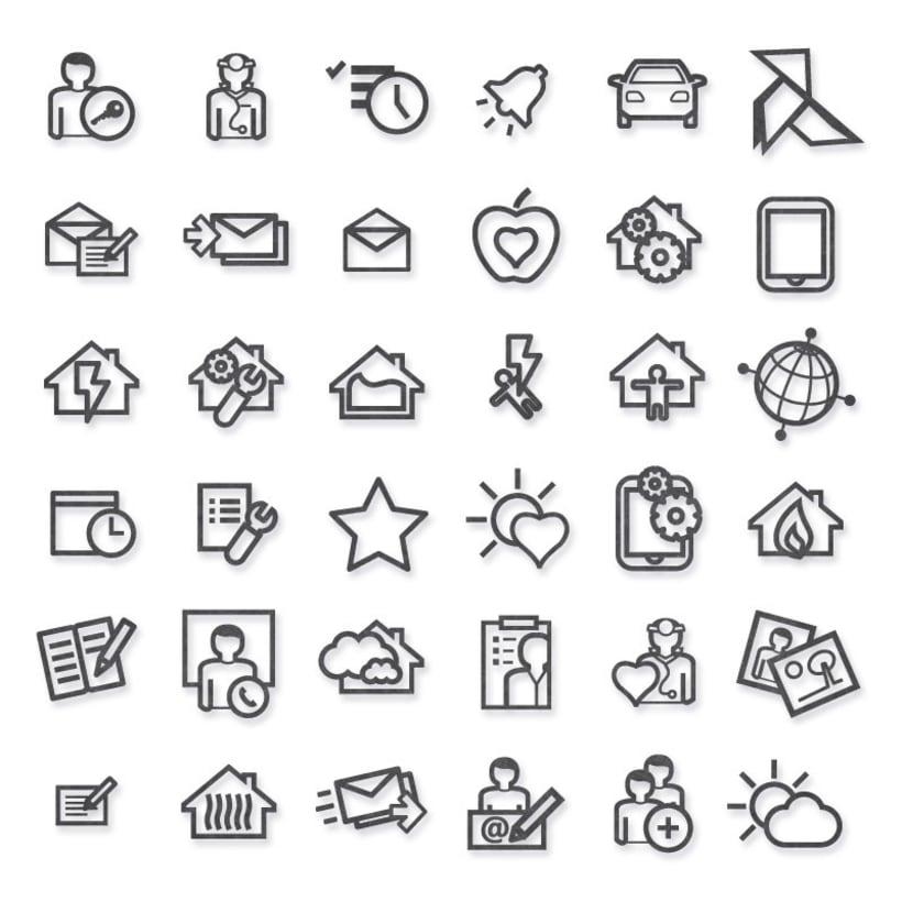Colección de iconos. -1