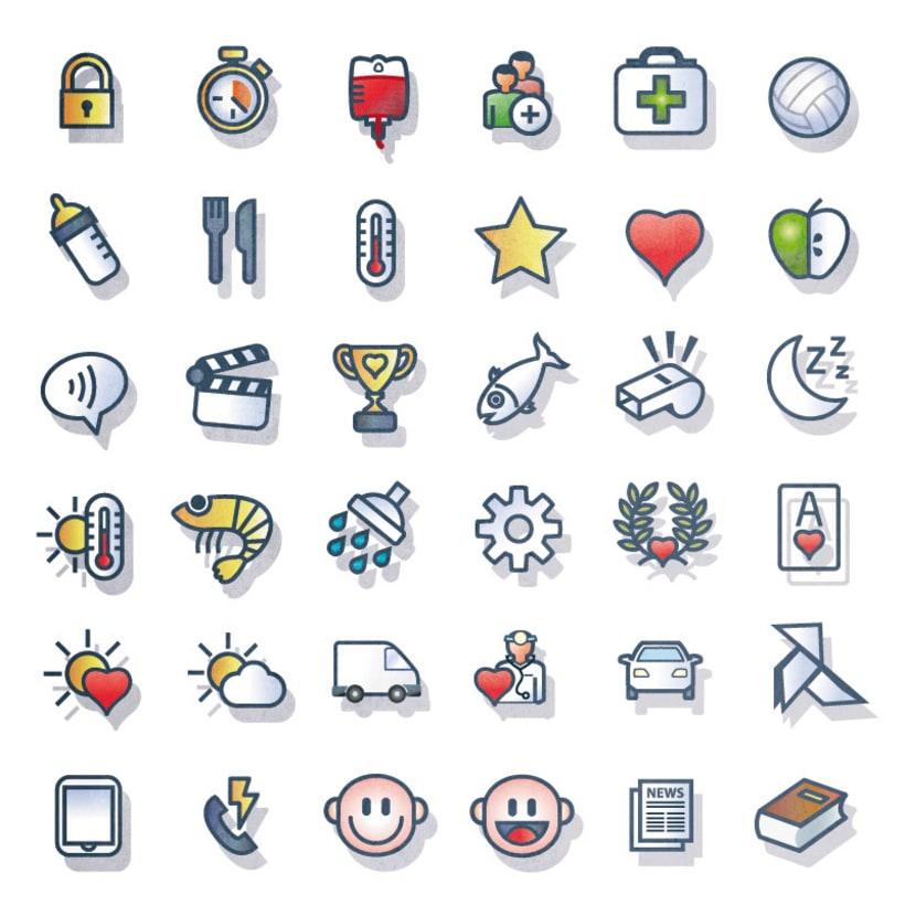 Colección de iconos. 0