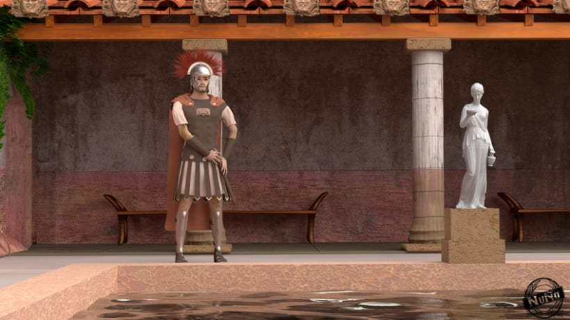 Virtualización de las Termas de la Alcudia. Yacimiento romano. 0
