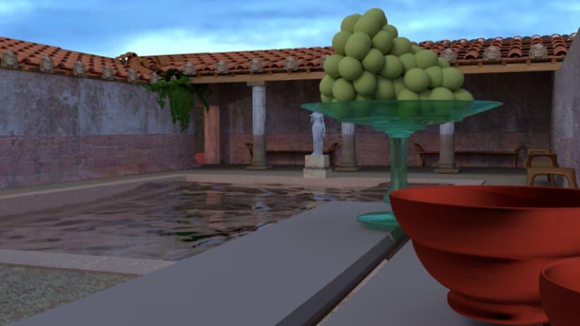 Virtualización de las Termas de la Alcudia. Yacimiento romano. 4
