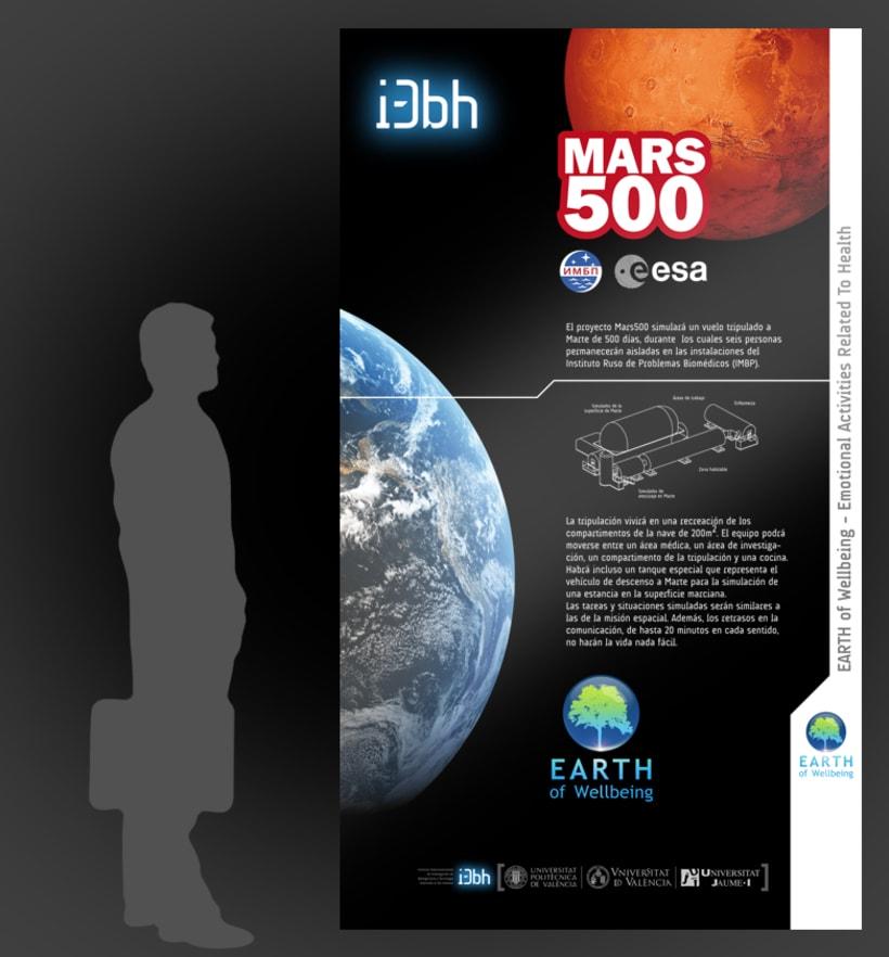 Exposición MARS500 1