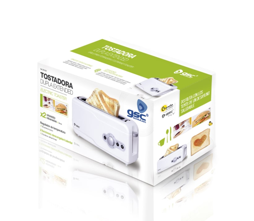 Packaging Tostadoras 0