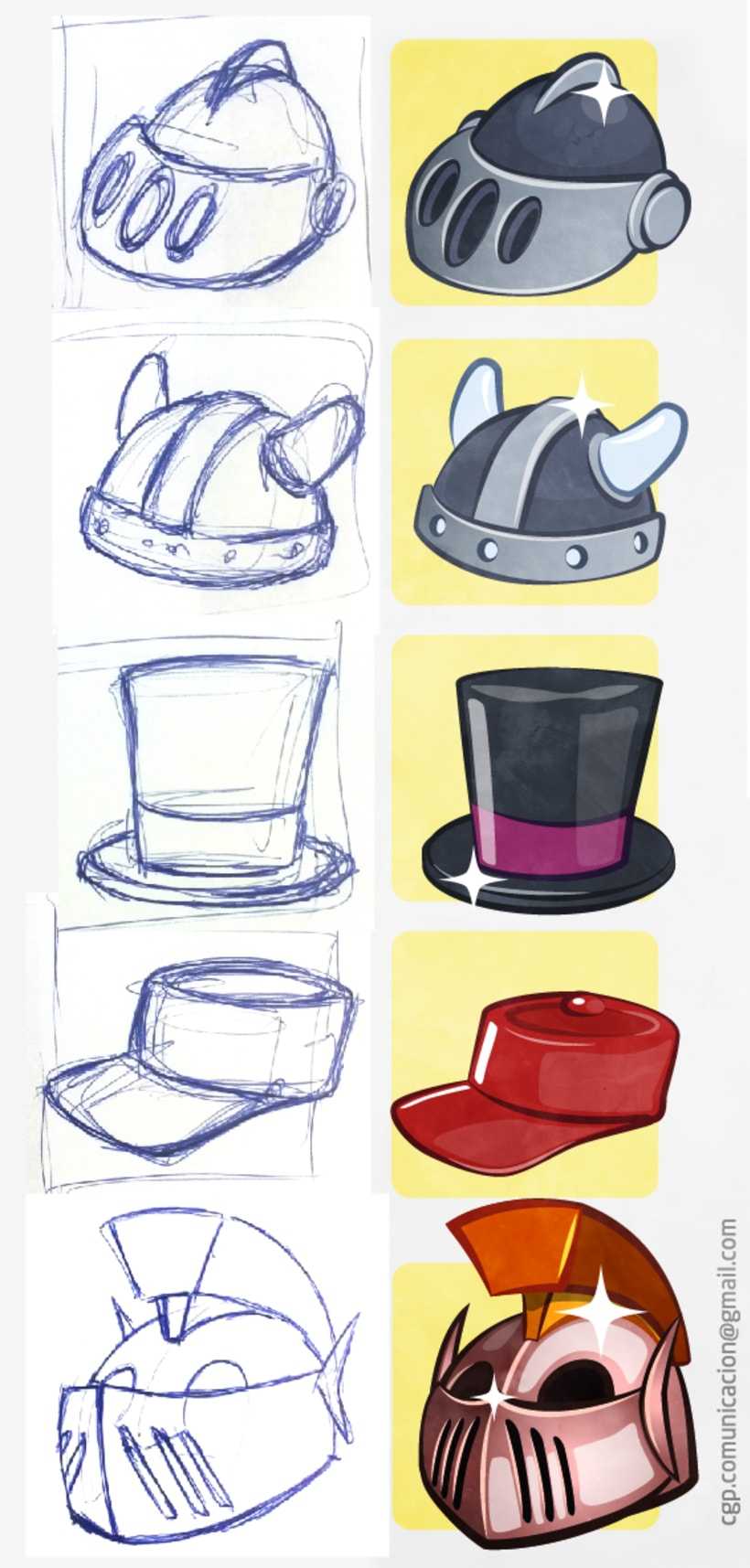 Ilustraciones para videojuego -1
