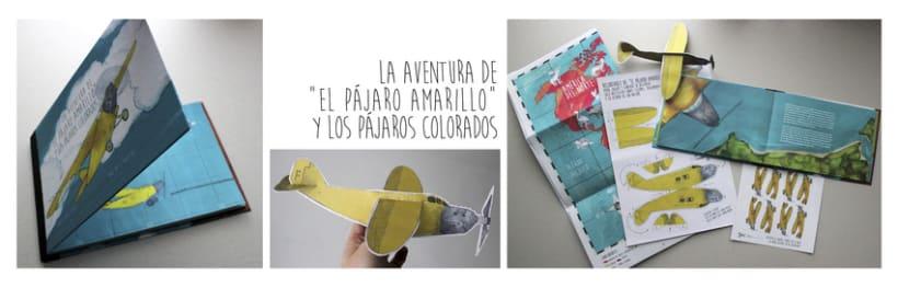 """La aventura de """"El Pájaro Amarillo"""" y los pájaros colorados 0"""