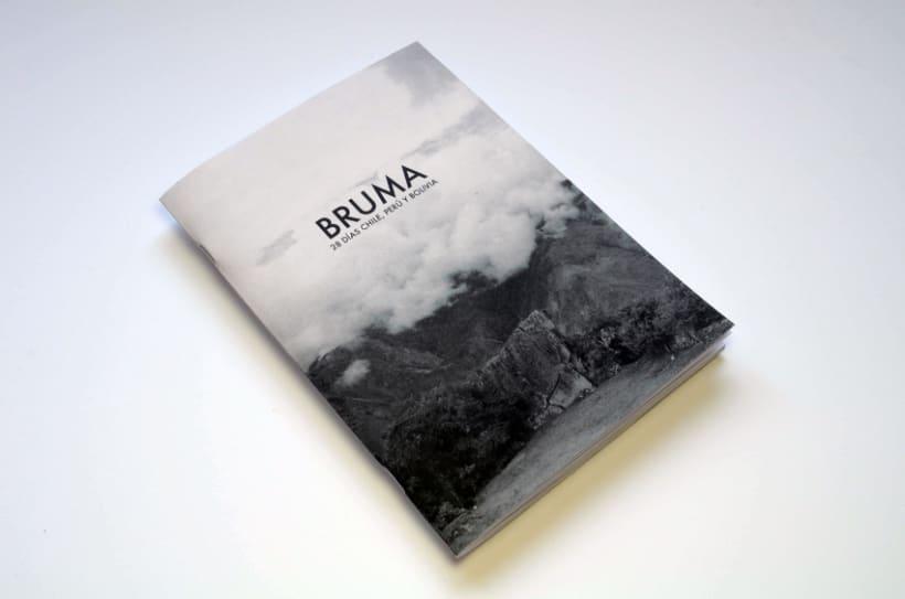 BRUMA_ 28 Días Chile, Perú, Bolivia_ Impreso por MAY Ediciones. 0