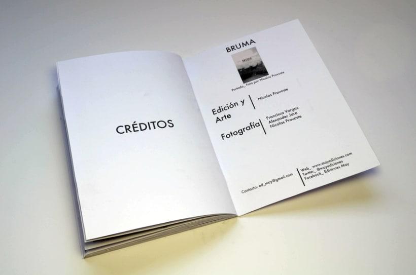 BRUMA_ 28 Días Chile, Perú, Bolivia_ Impreso por MAY Ediciones. 6