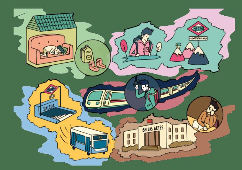 Mapa Ilustrado -1