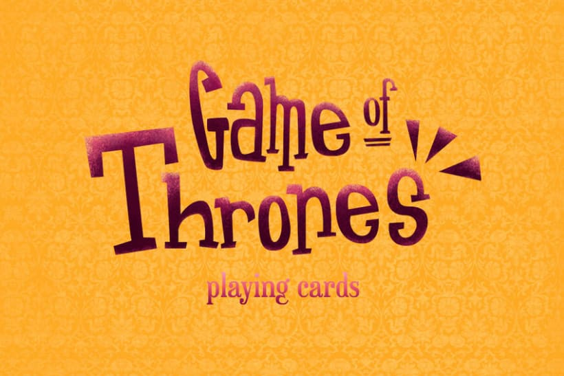 Game of Thrones Playing Cards 0