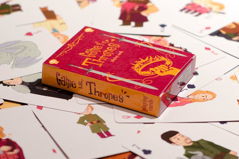 Game of Thrones Playing Cards 2