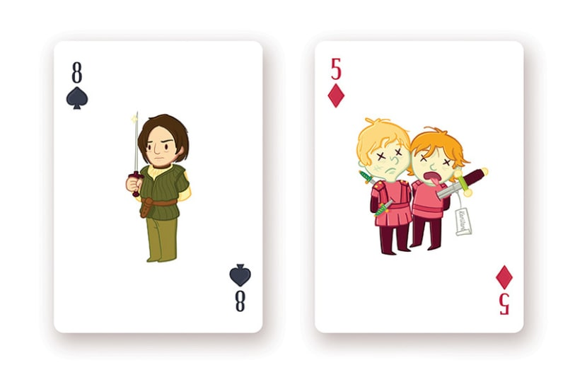 Game of Thrones Playing Cards 11