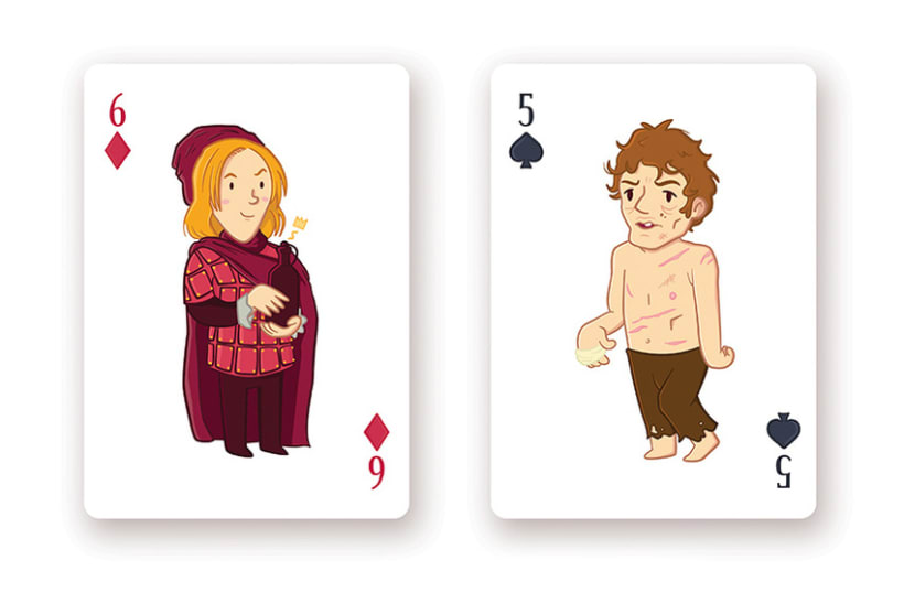 Game of Thrones Playing Cards 13