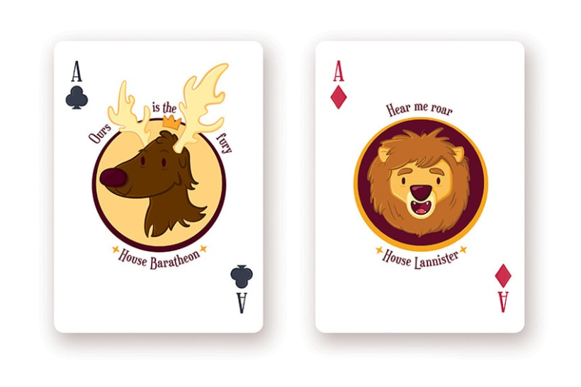 Game of Thrones Playing Cards 9
