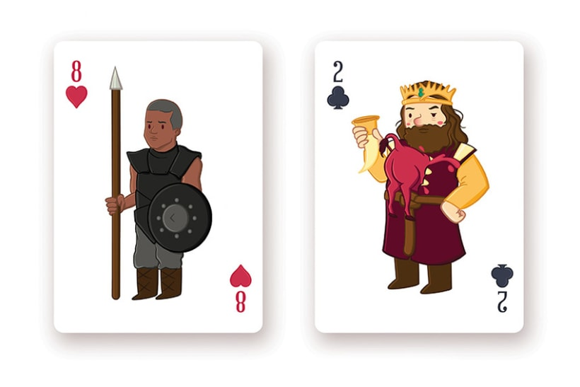 Game of Thrones Playing Cards 12