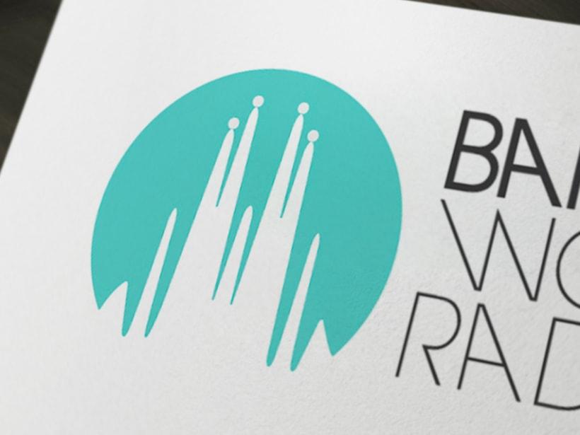 Identidad corporativa BCN World Radio 3