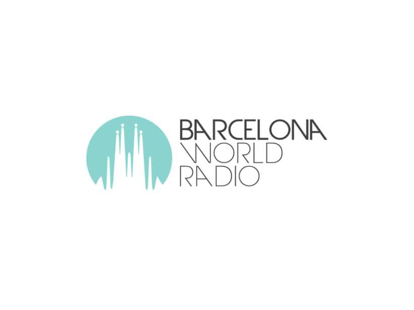 Identidad corporativa BCN World Radio 1