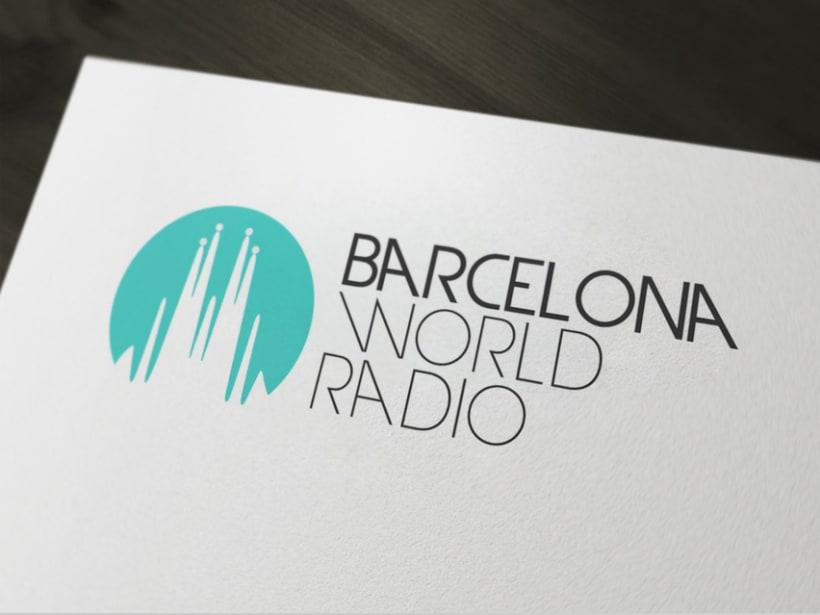Identidad corporativa BCN World Radio 2