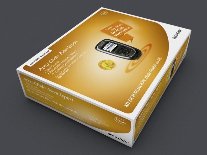 Diseño Kit control insulina Roche 1