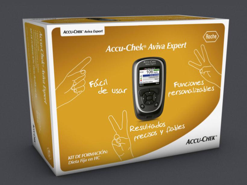 Diseño Kit control insulina Roche 3