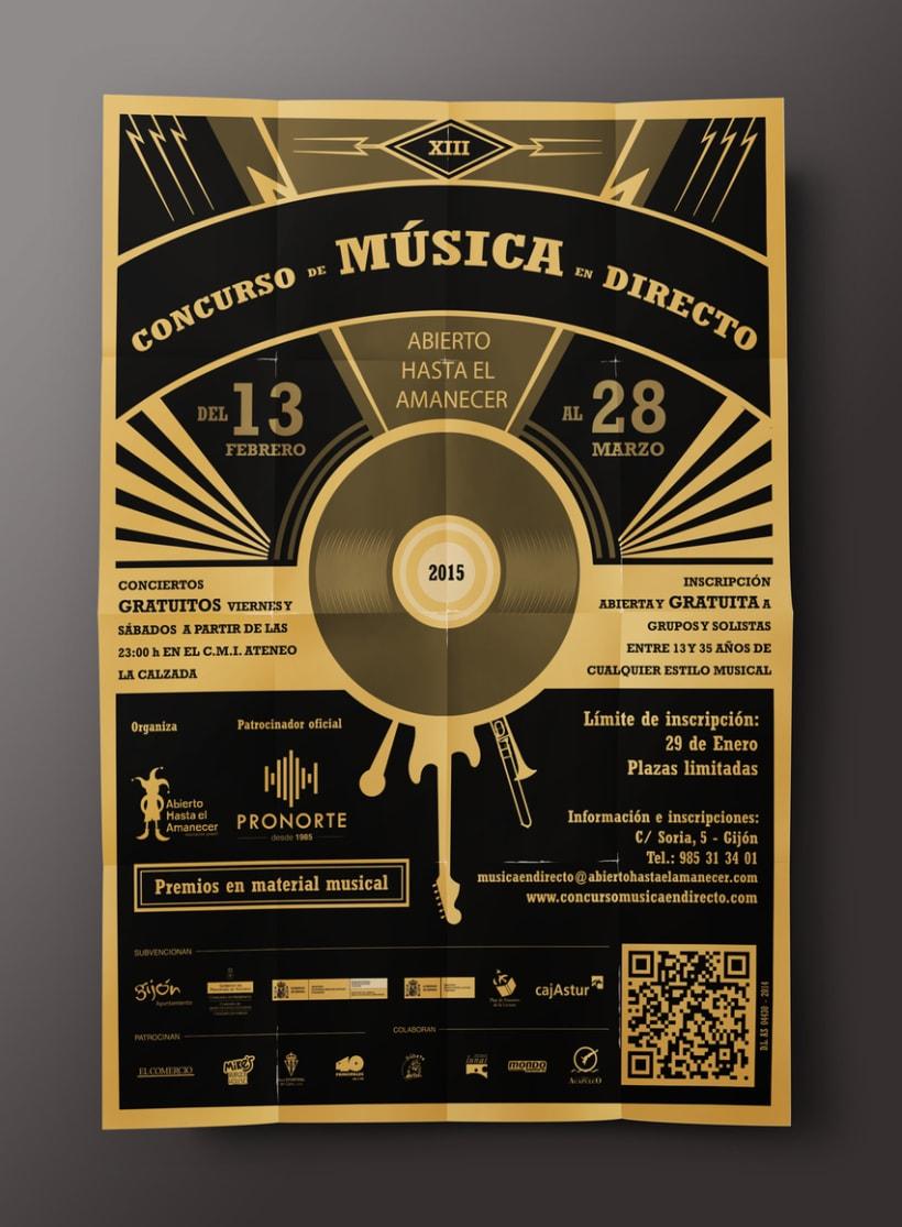 XIII Concurso de Música en Directo 1