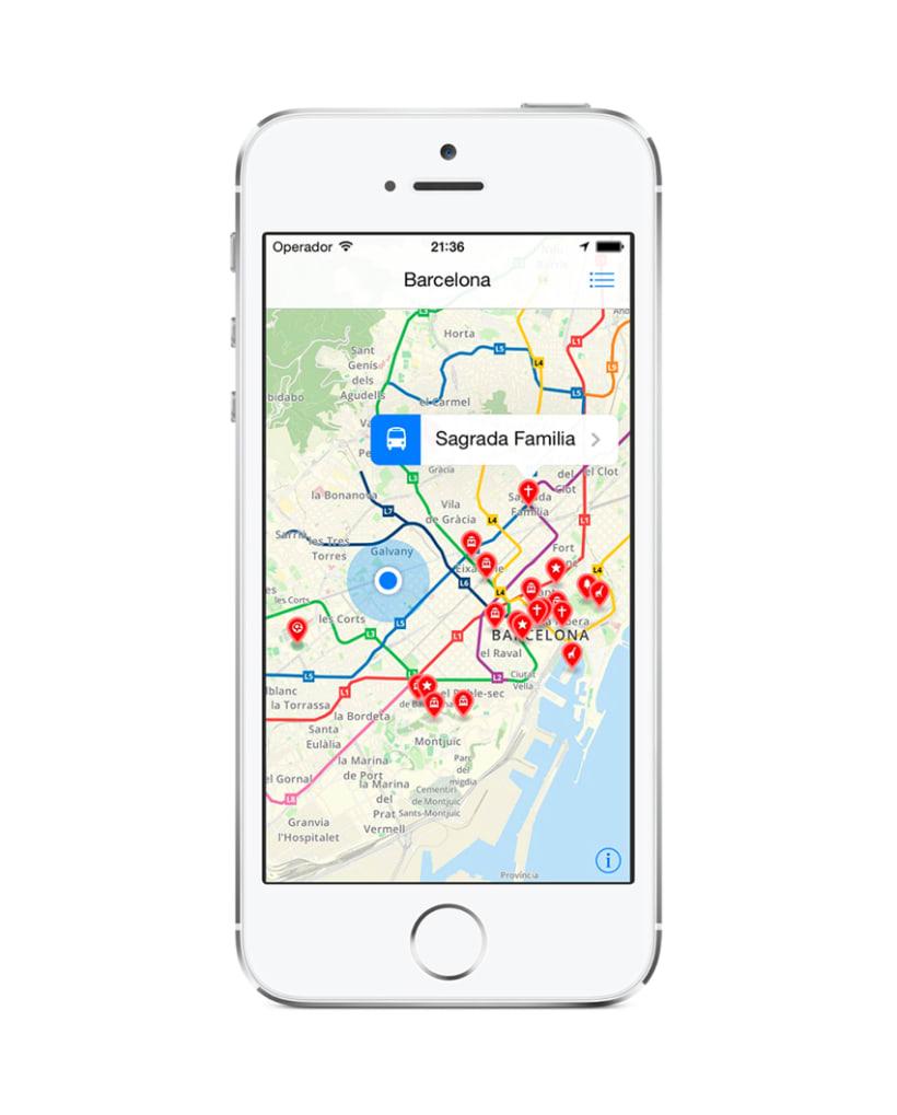 Aplicación Barcelona Smart Guide 2