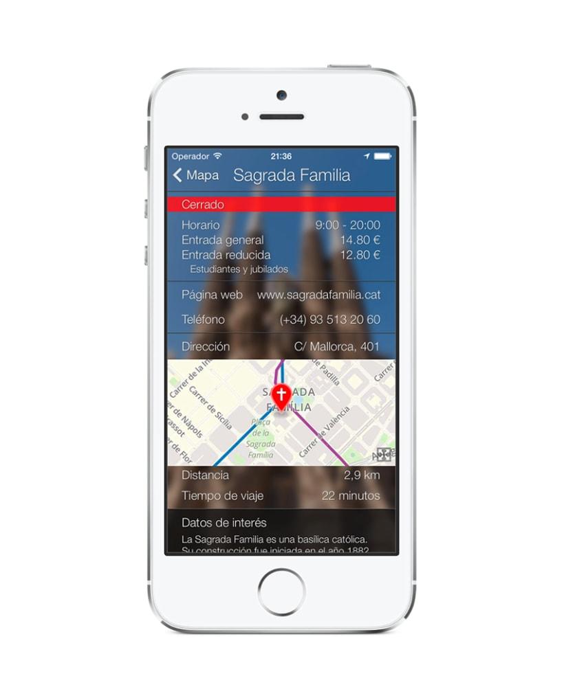 Aplicación Barcelona Smart Guide 3