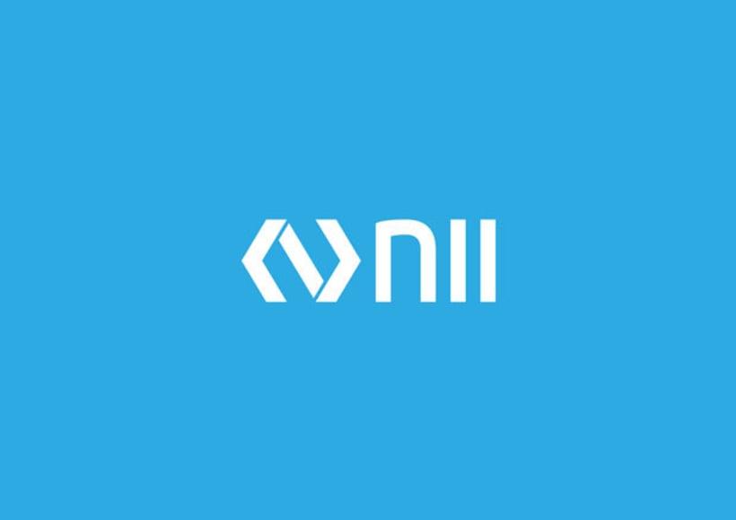 NII | Logo design 6