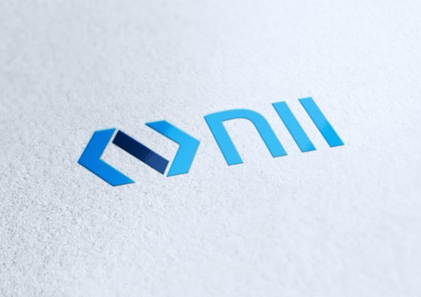 NII | Logo design 10