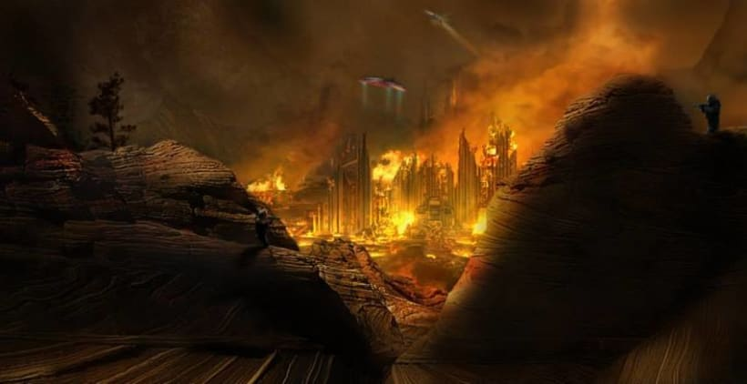 Caos matte painting -1