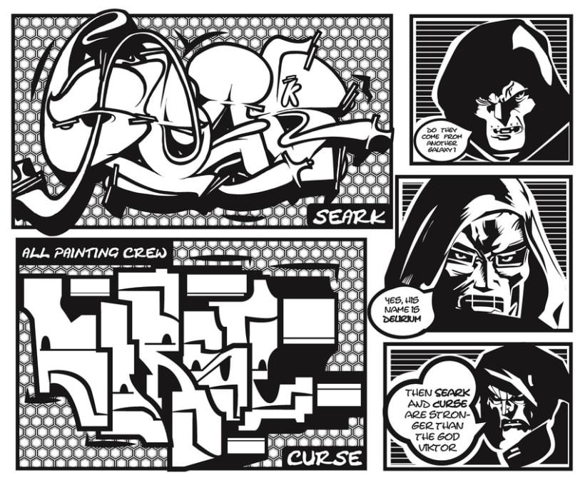 Comic Curse 1