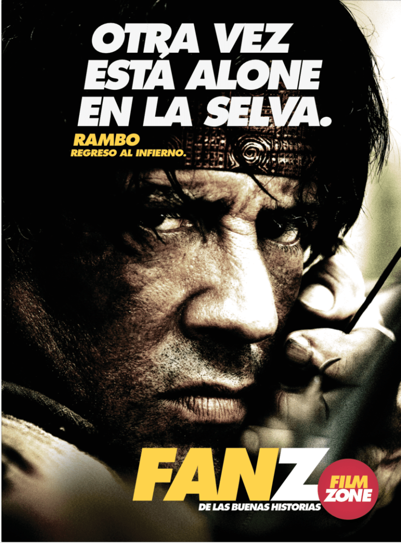 Armado John Rambo Film Zone -1